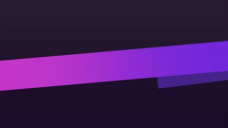 Motion-geometric-gradient-purple-stripes-retro-abstract-background