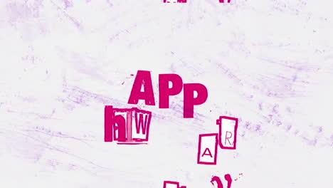 Texto-De-Introducción-De-Animación-Feliz-Año-Nuevo-Sobre-Fondo-Hipster-Y-Grunge