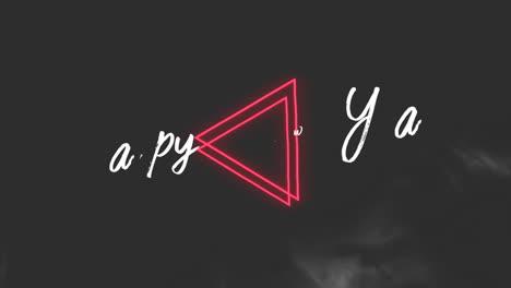 Texto-De-Introducción-De-Animación-Feliz-Año-Nuevo-Sobre-Fondo-De-Moda-Y-Club-Con-Triángulos-Rojos-Brillantes