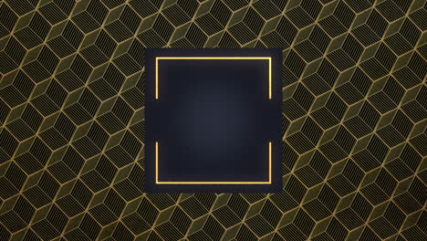 Abstract-gold-and-luxury-geometric-shape-with-frame-retro-background-2