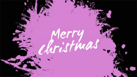 Animation-text-Merry-Christmas-on-purple-fashion-and-brush-background