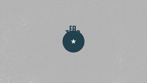 Animación-Texto-Día-De-Los-Veteranos-Sobre-Fondo-Militar-Con-Sello-De-Avión