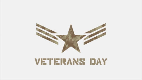 Animation-text-Veterans-Day-on-military-background-with-stamps-and-star