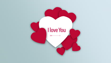 Animated-closeup-I-Love-You-text-and-motion-romantic-red-and-white-hearts-on-Valentines-day-background
