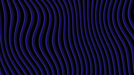 Movimiento-Abstracto-Geométrico-Azul-Ondas-Retro-Fondo