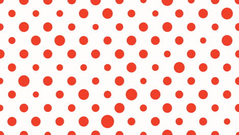 Motion-intro-geometric-red-dots-abstract-simple-background