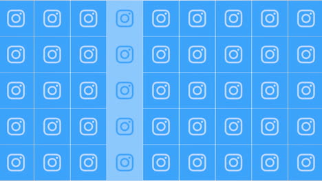 Motion-icons-of-Instagram-social-network-on-simple-background