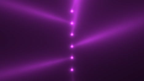 Animation-motion-purple-glowing-spotlight-beams-on-dark-background-in-stage-1