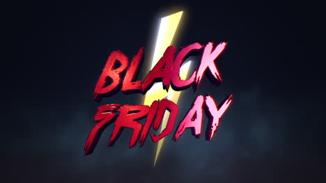 Animation-intro-text-Black-Friday-and-thunderbolt-retro-90s-background