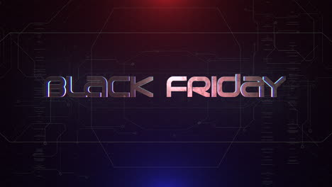Animation-intro-text-Black-Friday-and-cyberpunk-animation-background-with-computer-matrix-and-grid-1
