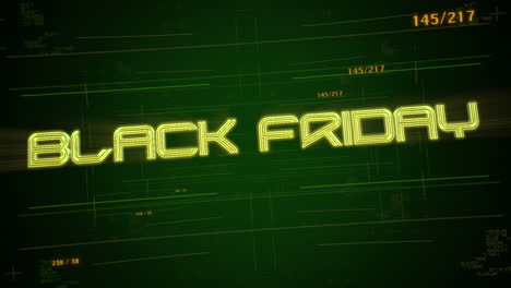 Animation-intro-text-Black-Friday-and-cyberpunk-animation-background-with-computer-matrix-and-grid-2