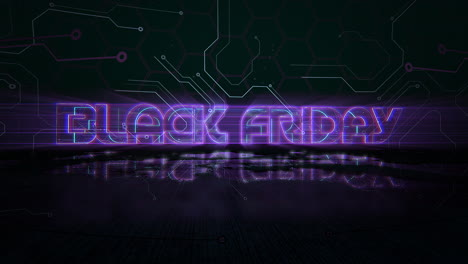 Animation-intro-text-Black-Friday-and-cyberpunk-animation-background-with-computer-chip-and-neon-lights-1