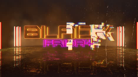 Animation-intro-text-Black-Friday-and-cyberpunk-animation-background-with-neon-lights-1