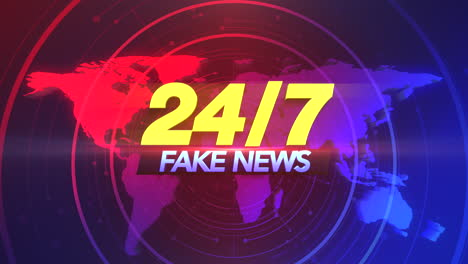 Animation-text-24-Fake-News-and-news-intro-graphic-with-lines-and-world-map-in-studio