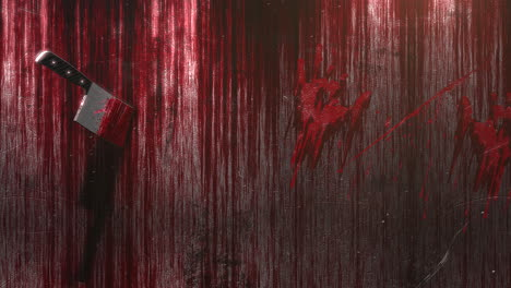 Mystical-horror-background-with-dark-blood-and-knife