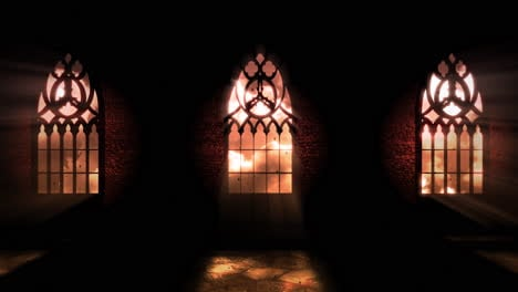 Animation-mystical-horror-background-with-dark-hall-of-castle