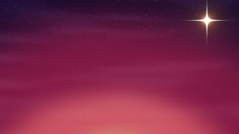 Cartoon-animation-background-with-motion-stars-and-moon-abstract-backdrop
