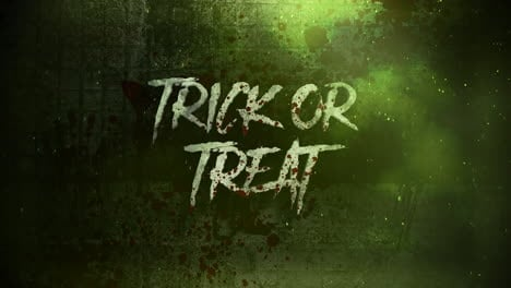 Animation-text-Trick-or-Treat-on-mystical-on-mystical-horror-background-with-dark-blood