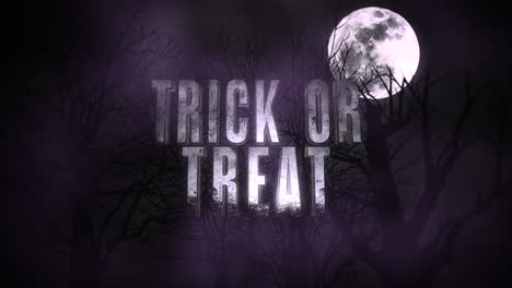Animation-text-Trick-or-Treat-and-mystical-animation-halloween-background-with-dark-moon-and-clouds-1