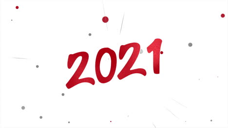 Animated-closeup-2021-text-and-fly-red-confetti-on-holiday-background