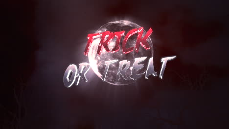 Animation-text-Trick-or-Treat-and-mystical-animation-halloween-background-with-dark-moon-and-clouds-2