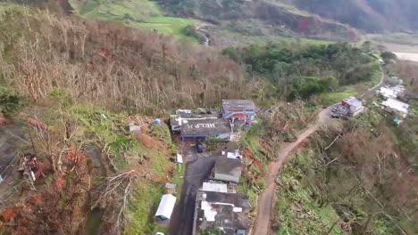 Aerials-Over-The-Destruction-Of-Hurricane-Maria-In-Puerto-Rico