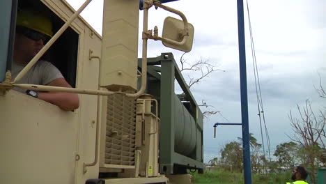 Water-And-Relief-Supplies-Are-Delivered-To-Victims-Of-Hurricane-Maria-In-Puerto-Rico-By-The-Us-National-Guard