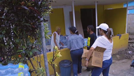 Water-And-Relief-Supplies-Are-Delivered-To-Victims-Of-Hurricane-Maria-In-Puerto-Rico-By-The-Us-Aid-Agencies-3