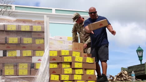 Water-And-Relief-Supplies-Are-Delivered-To-Victims-Of-Hurricane-Maria-In-Puerto-Rico-By-The-Us-Aid-Agencies-6