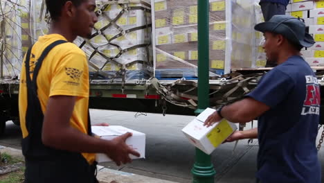 Water-And-Relief-Supplies-Are-Delivered-To-Victims-Of-Hurricane-Maria-In-Puerto-Rico-By-The-Us-Aid-Agencies-7