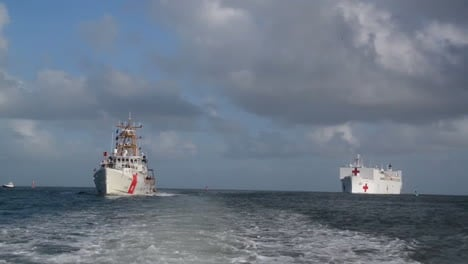 The-Us-Navy-Red-Cross-Comfort-Heads-For-Puerto-Rico-During-Hurricane-Maria