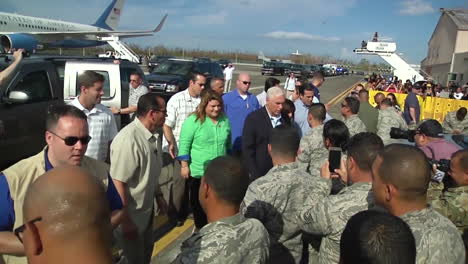Vice-President-Mike-Pence-Visits-Puerto-Rico-After-The-Hurricane-Maria-Disaster-1