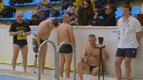 Wounded-Veterans-Of-The-War-In-Ukraine-Compete-In-Swimming-Tryouts-For-The-Invictus-Games