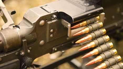 Bullets-Are-Fired-From-A-Machine-Gun