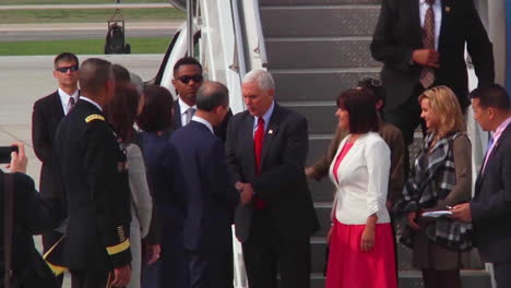 Vice-President-Mike-Pence-Arrives-At-Osan-Air-Base-In-Korea-To-Meet-With-Officials-About-The-Korean-Crisis-1