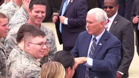 Vice-President-Mike-Pence-Greets-Soldiers-At-A-Military-Base-In-2017-1