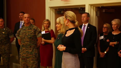 Ivanka-Trump-Addresses-Soldiers-At-A-Formal-Military-Event-Accompanied-By-Kellyanne-Conway