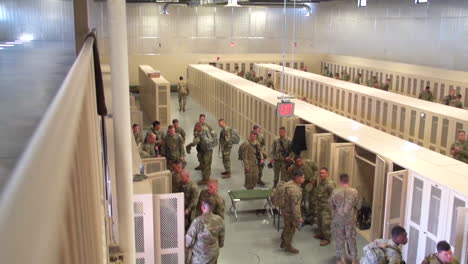 American-Army-Snipers-Store-Their-Rifles-In-Lockers-After-Target-Practice