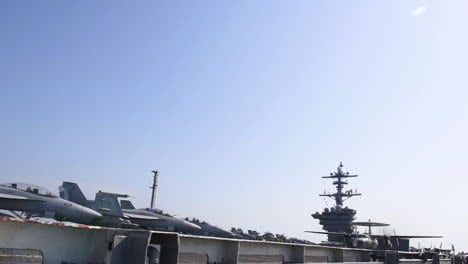 Navy-Jets-Take-Off-From-A-Us-Aircraft-Carrier-2