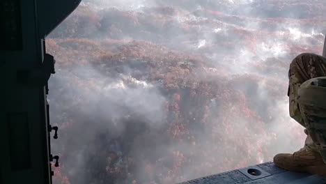 Aerial-View-Of-Vast-Acres-Destroyed-By-Wildfire-Near-Gatlinburg-Tennessee-In-November-2016