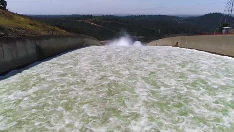 Spectacular-Aerials-Of-Water-Flowing-Through-The-Restored-New-Spillway-At-Oroville-Dam-California-1