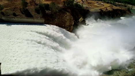 Spectacular-Aerials-Of-Water-Flowing-Through-The-Restored-New-Spillway-At-Oroville-Dam-California-3