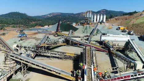 Aerial-Of-Workers-And-Equipment-At-The-Construction-Site-Of-A-New-Spillway-At-Oroville-Dam-California-15