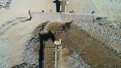 Aerial-Of-Workers-And-Equipment-At-The-Construction-Site-Of-A-New-Spillway-At-Oroville-Dam-California-16