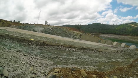 Ground-Level-Shot-Of-A-Dynamite-Explosion-Clearing-A-Water-Channel-At-The-Oroville-Dam-Spillway-Reconstruction-Project-2