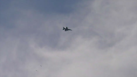 F16S-Drop-Bombs-On-The-North-Impact-Area-At-Fort-Mccoy