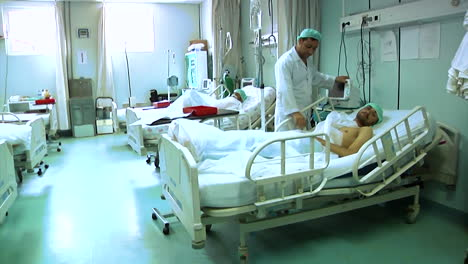 Doctors-Tend-To-Wounded-Soldiers-At-The-Afghanistan-Regional-Military-Hospital