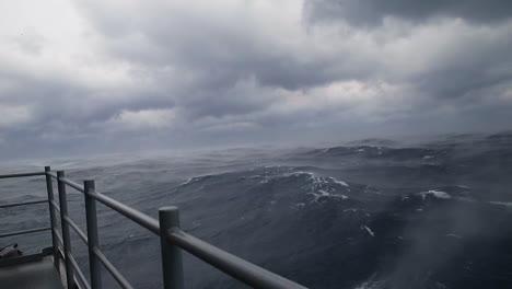 Sailors-Aboard-The-Uss-Gerald-R-Ford-Observe-Sea-Smoke
