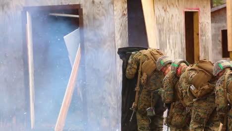 Us-Marines-In-Training-At-Camp-Lejeune-Undergo-Breaching-Range-Exercises-With-Explosives