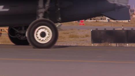 Usaf-Pilots-Drive-A10-Thunderbolt-Aircrafts-Along-The-Runway-At-Kandahar-Airfield-Afghanistan